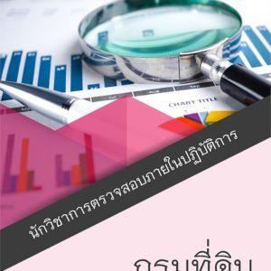 แนวข้อสอบ นักวิชาการตรวจสอบภายในปฏิบัติการ กรมที่ดิน อัพเดต 2563 [[Sheet Store]]